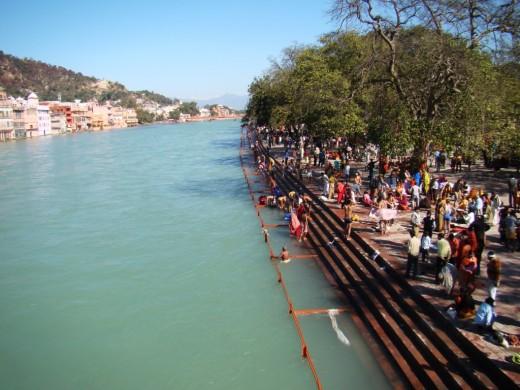 The Ganga at Hardwar 2
