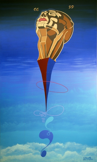 INFINITY'S DREAM - original canvas painting by Robert Kernodle