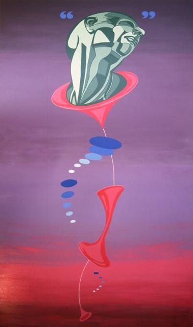 A HIGHER CALLING - Original painting by Robert Kernodle