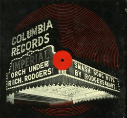 This is alleged to be the first ever illustrated record cover