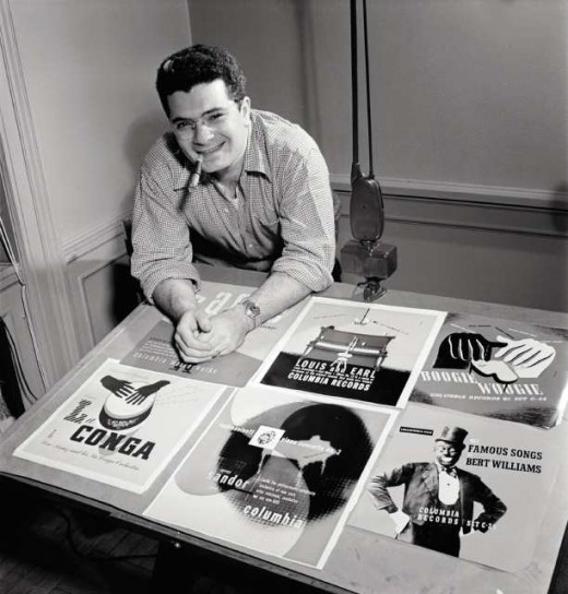 Alexander Steinweiss, the originator of the illustrated record cover