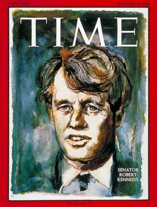 Bobby Kennedy on Time magazine
