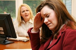 a difficult co-worker is often a headache...  See image at:  www.ehow.com/  how_47131...rker.html/