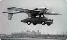 How we all thought flying cars would look