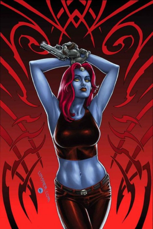 Mystique by Joseph Michael Linsner
