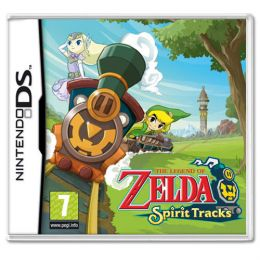 The Legend of Zelda Spirit Tracks is a puzzle filled DS Game!