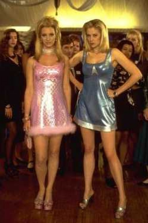 Romy and Michele finally get their justice when they finally decide to be themselves.