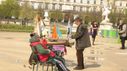 A boat rental in the Tuilleries, April 2008