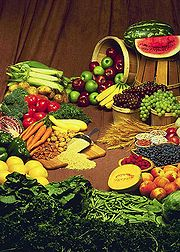 raw foods     Picture from      http://en.wikipedia.org/wiki/File:Foods.