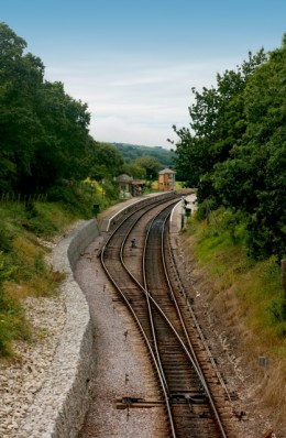 Railway track. Taken by Simon Howden FreeDigitalPhotos.net