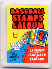 1974 Topps Baseball Stamps Pack