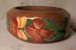 Another view of Norwegian style bangle