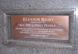 Eleanor Rigby was considered by many as the Beatles ode to loneliness.