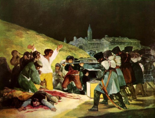 One of Goya's most famous paintings