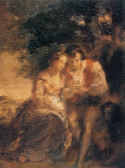 Robert Burns with Highland Mary
