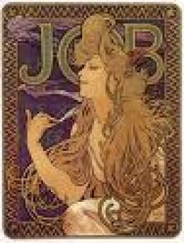 A Mucha Cigarette Poster