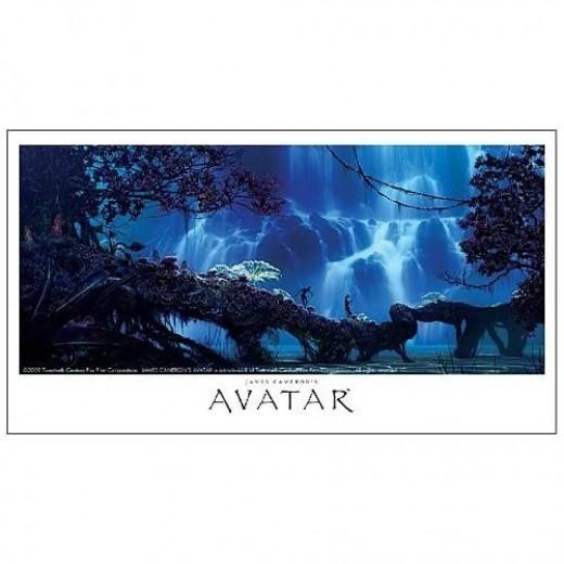 Avatar Pandora Landscape: Signed Avatar Posters