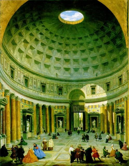 """Pantheon"" by Giovanni Paolo Pannini"