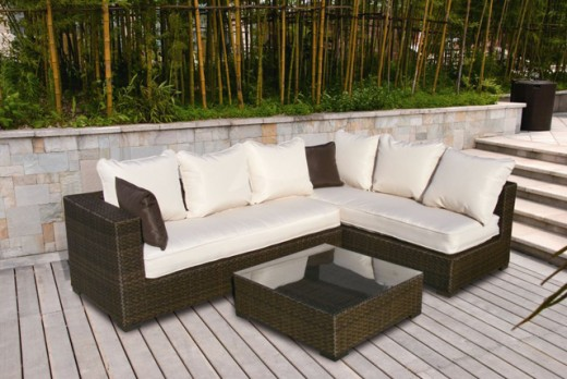 Real wicker will crack and break while outdoor resin wicker furniture is made to last retaining comfort and beauty.