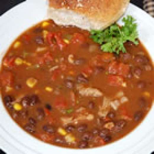 Chicken Chili Soup (from Allrecipes)