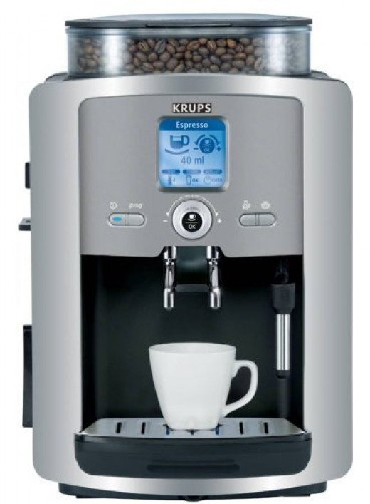 Krups XP7225 Espresso Coffee maker Machine