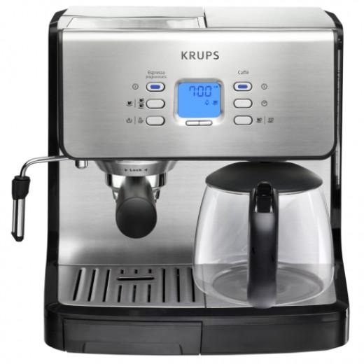 Krups XP2070 Combo Espresso Coffee maker Machine