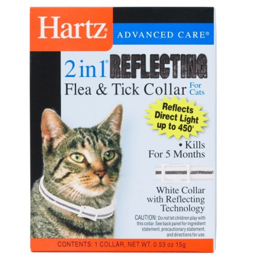Hartz cat flea collars aren't the safest method of flea prevention