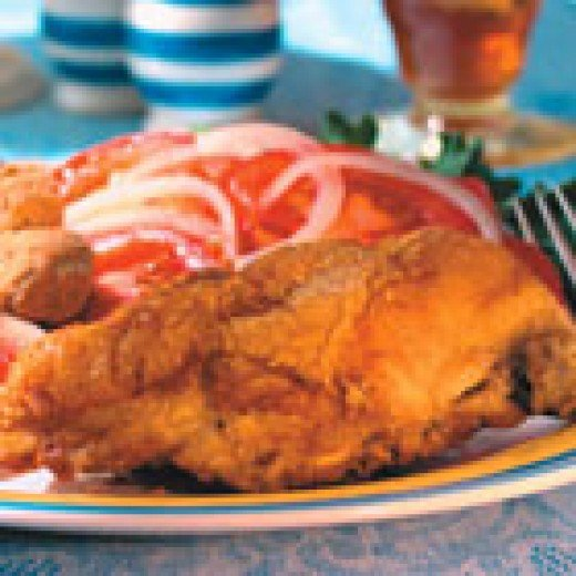 Deep South Fried Chicken (from Allrecipes)