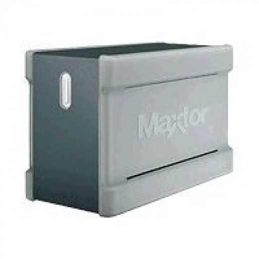 Maxtor One Touch III Turbo 1 TB RAID External Hard Drive