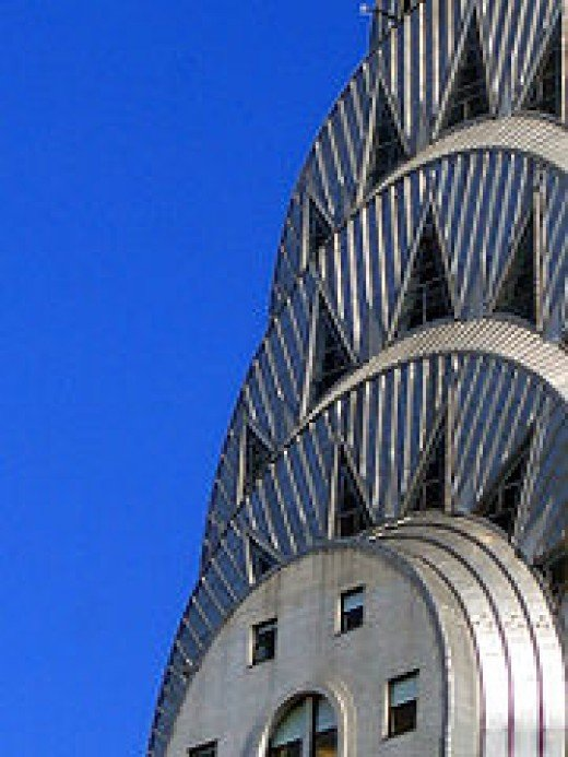 Detail of the Chrysler Building