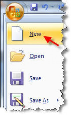 Using MS Office 2007 Templates