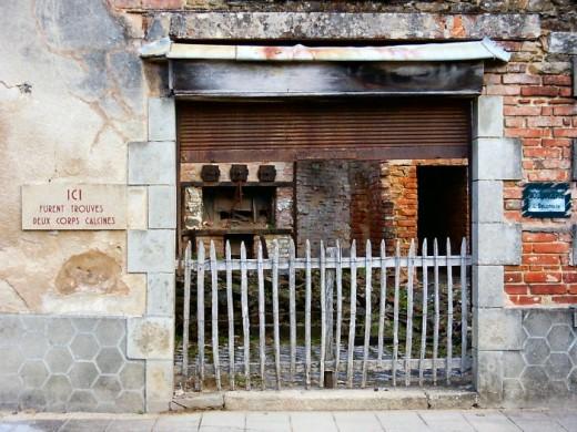 Bakery where baby's skeleton found
