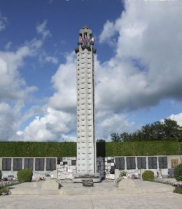 Memorial to the massacred