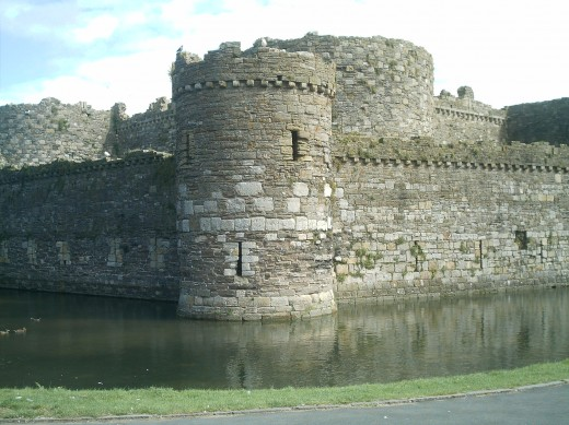Beaumaris Castle on the Island of Anglesey is the great unfinished masterpiece of James of st George.