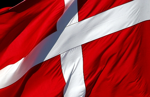 "THE FIRST NATIONAL FLAG ""DANNEBROG"""