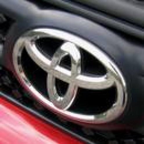 Toyota emblem