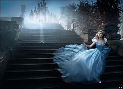 Scarlett Johannson as Cinderella