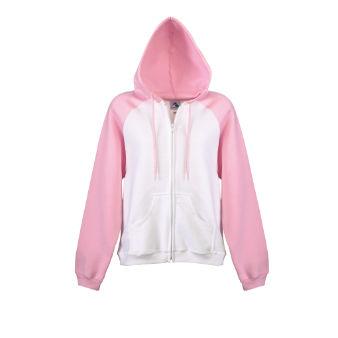 Women's hoodies often come in pink.