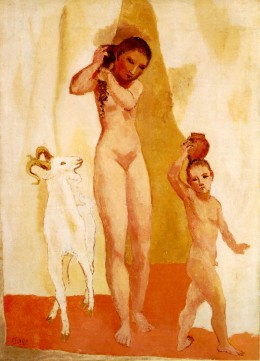The Girl with a Goat (1906)