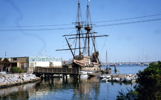 The Mayflower II is located in Plymouth, Massachusetts; a great historical site for the whole family.