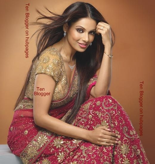 Bipasha Basu - Bridal Saree