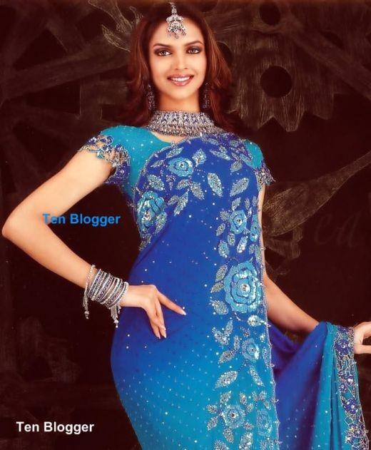 Deepika Padukone - Bridal Saree