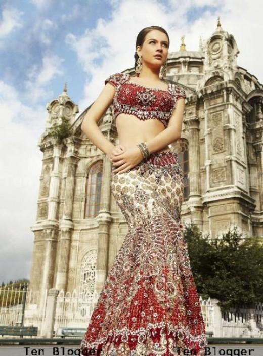 Neha Dalvi - Marriage Lehenga Choli