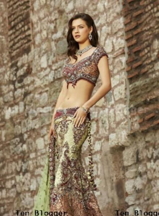 Neha Dalvi - Wedding Dress -  Lehenga Choli