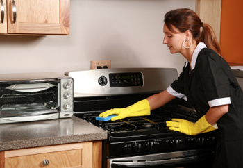 """In the """"old times"""" we had to clean our oven...."""