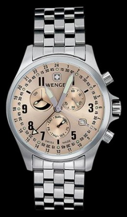 Wenger Terragraph Steel Watch