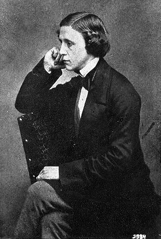 Charles L. Dodgson self portrait
