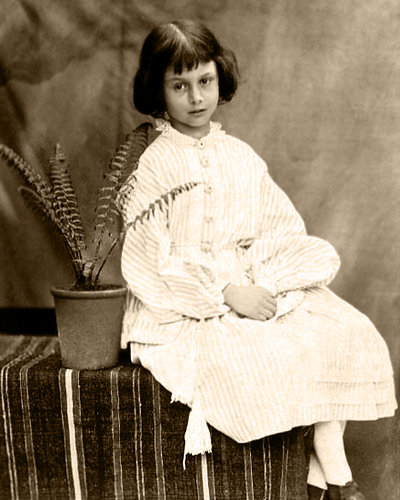 Alice Liddell Photo taken by Charles Dodgson, AKA Lewis Carroll