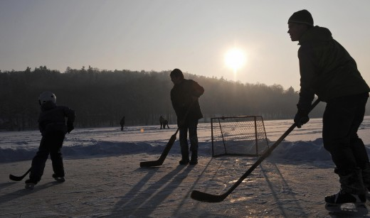 Or on the ponds, hockey remains the greatest game of all.
