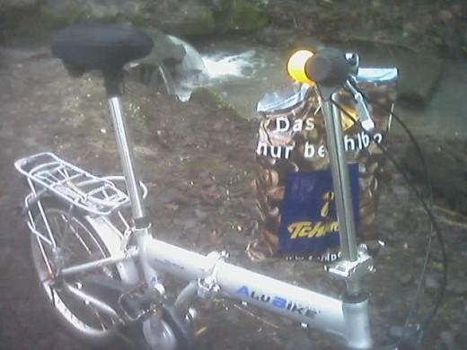 dali48's bike at Lake Morp in Erkrath...